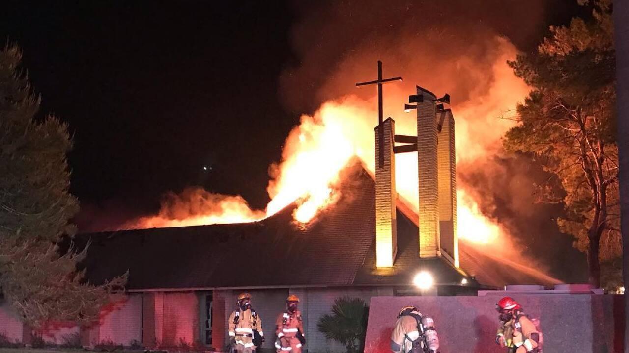 St. Joseph's Church Fire