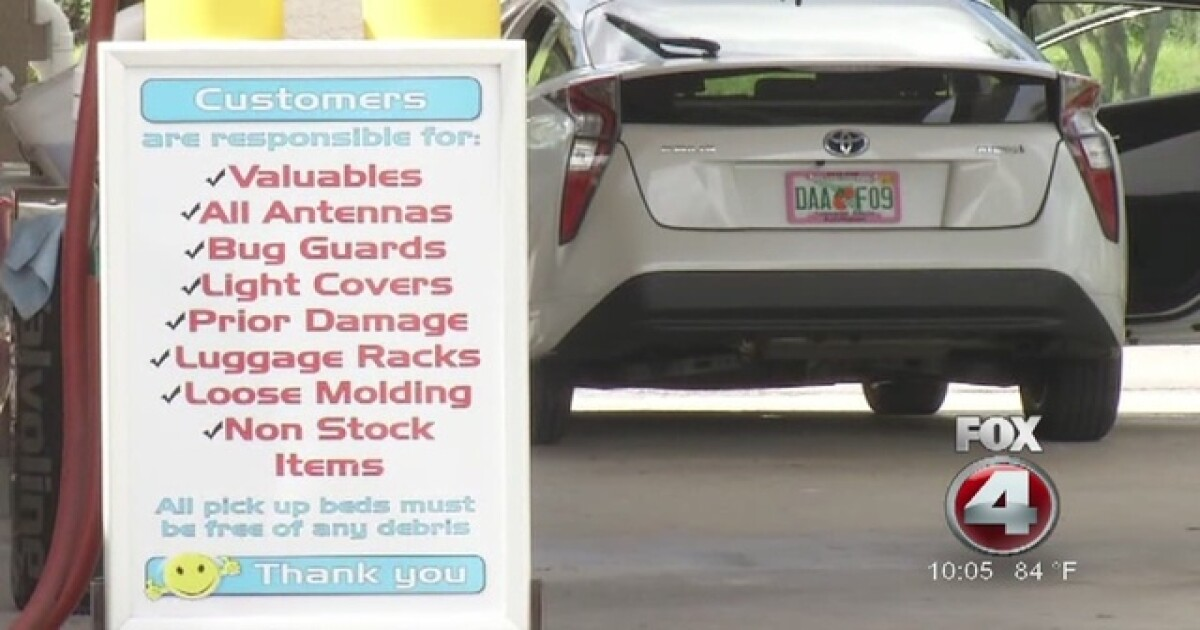 Man Says Car Wash Stole Equipment Owner Says Not Responsible