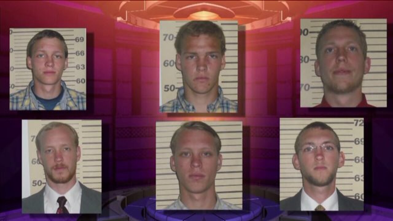 Three of six Perquimans brothers accused of sexually abusing their sister plead guilty