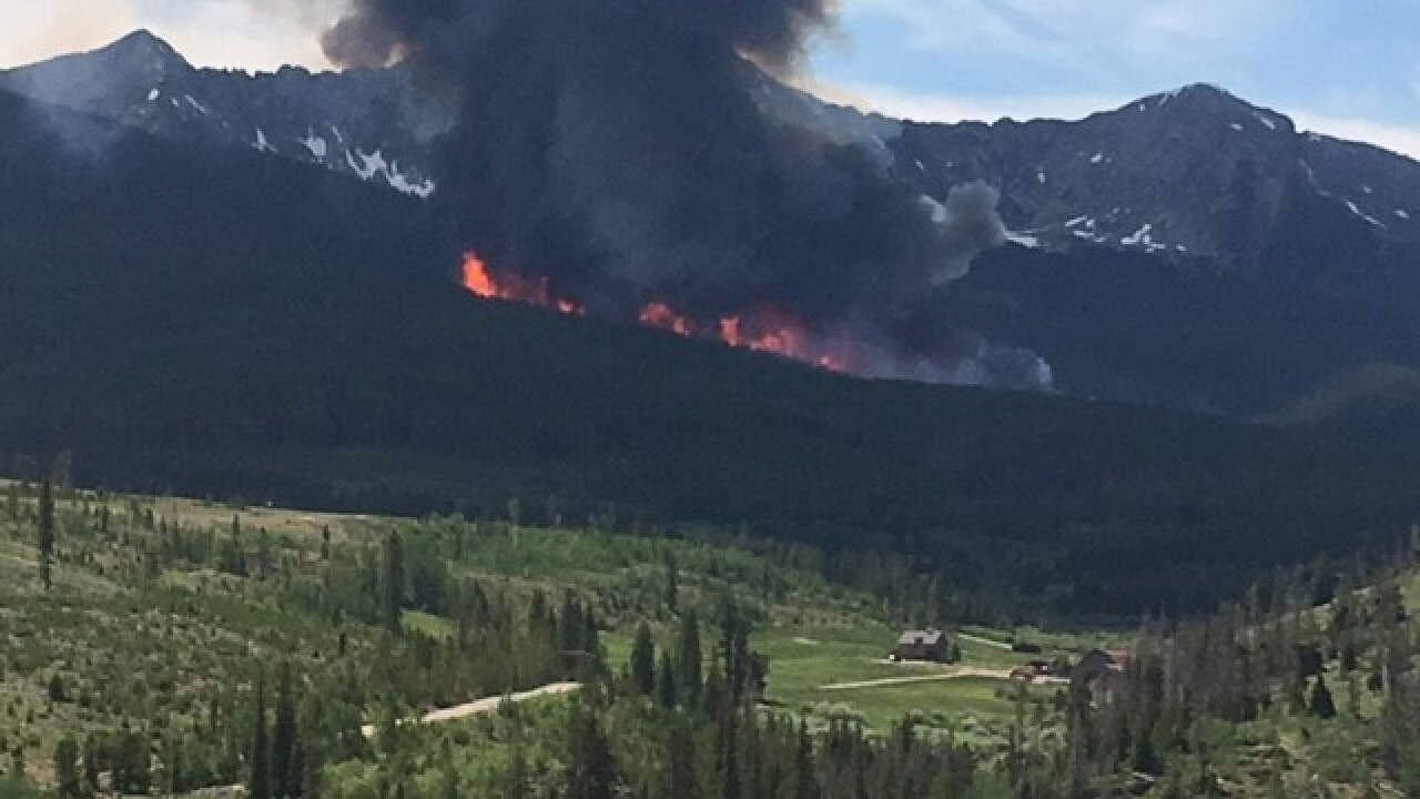 MAP: Large wildfires currently burning in Colorado