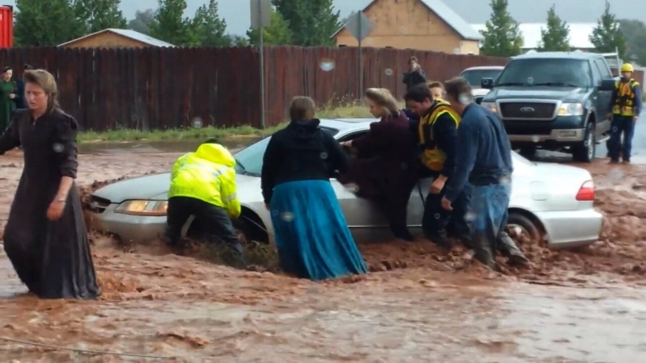 A trip to the park, then a flash flood: 12 die, 1 missing at Utah-Arizona border