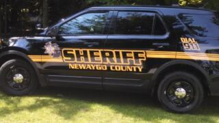 Newaygo County Sheriff SUV