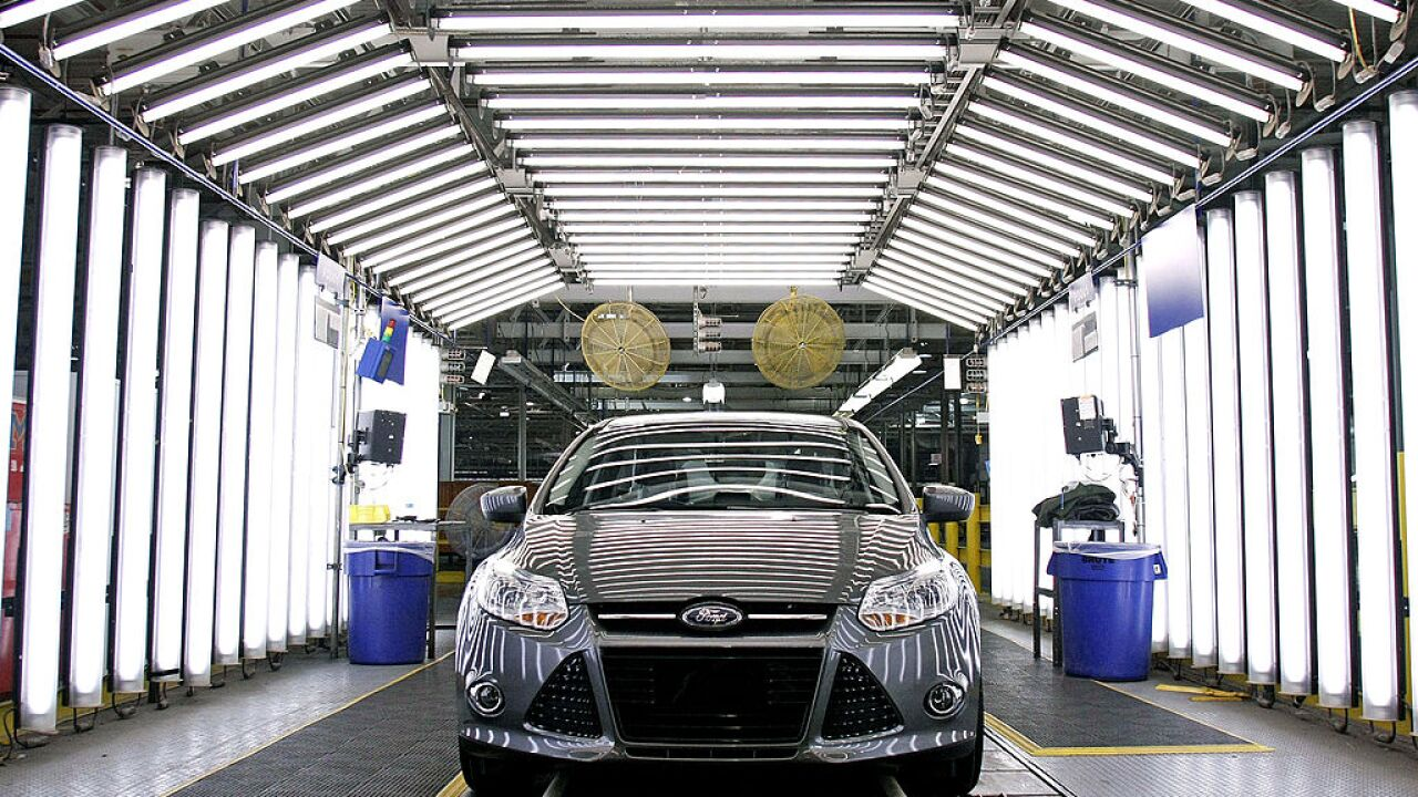 Ford is recalling 58,000 Focus cars because of possible fuel tank issues