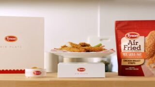 Tyson Is Rolling Out Frozen Air-fried Chicken Strips