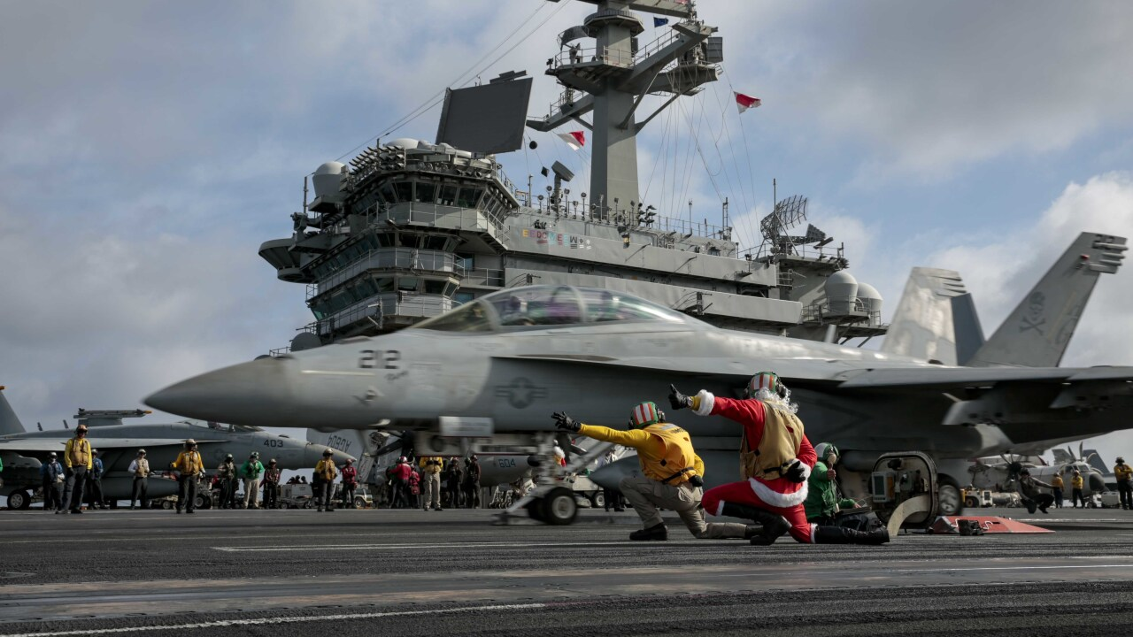 USS Harry S. Truman starts operations in Middle East as long deployment for USS Abraham Lincoln continues