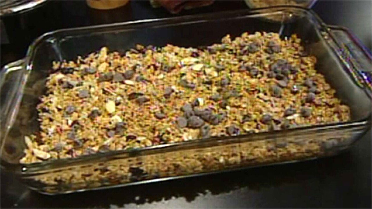 No Bake Granola Bars (03.07.12)