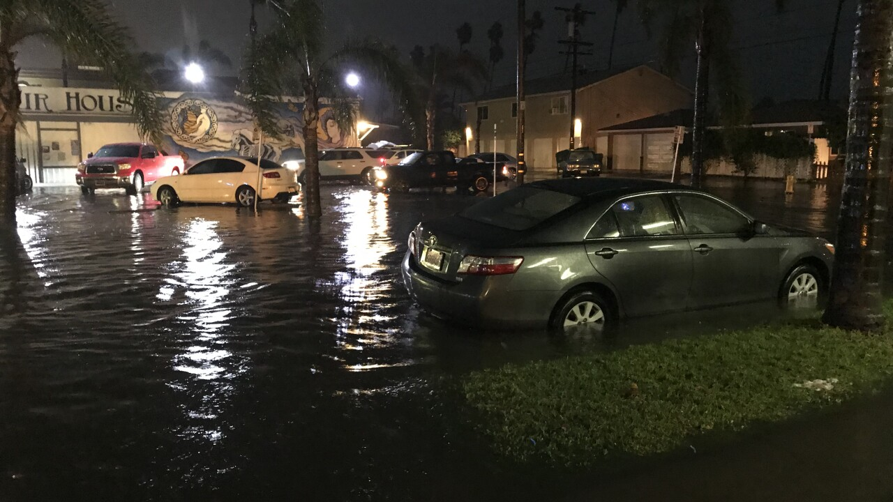 Oceanside flood