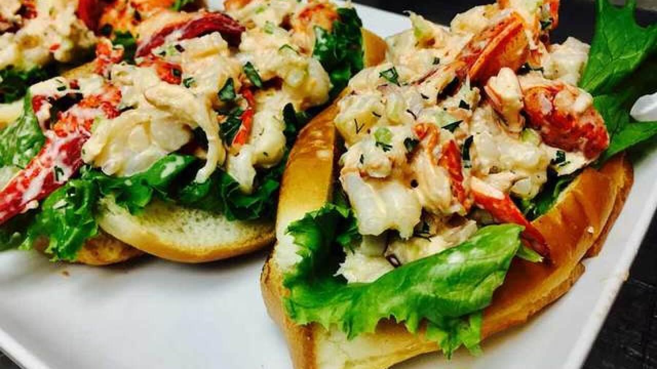 Lobster & shrimp roll recipe (11/13/18)