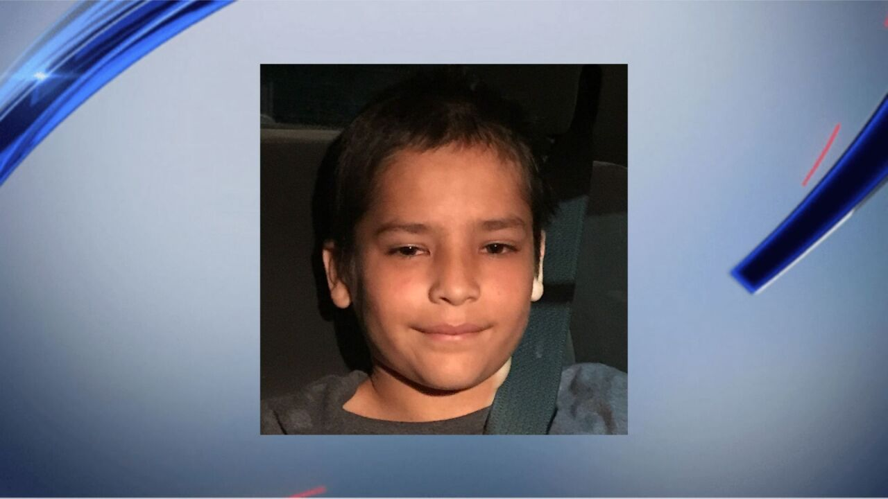 Missing 13-year-old boy Melvin Suarez