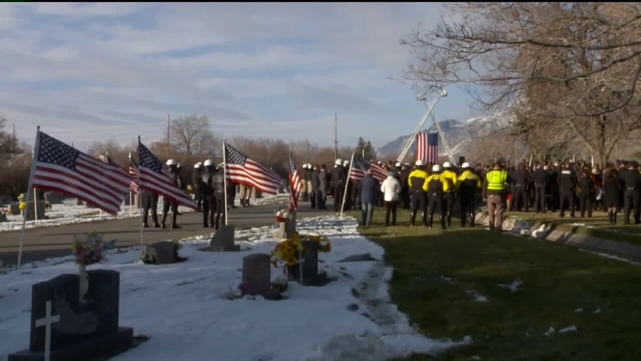 Thousands pay respects as fallen UHP Trooper Eric Ellsworth laid torest
