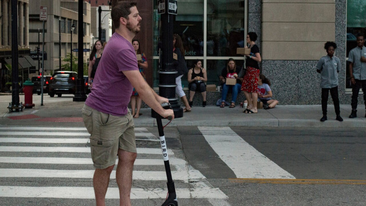 Bird scooters reaches agreement to operate in KC