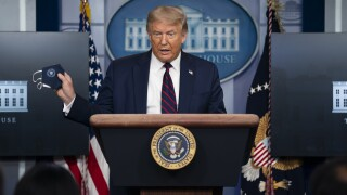 President Trump holds daily coronavirus news conference as COVID-19 testing drops in the US