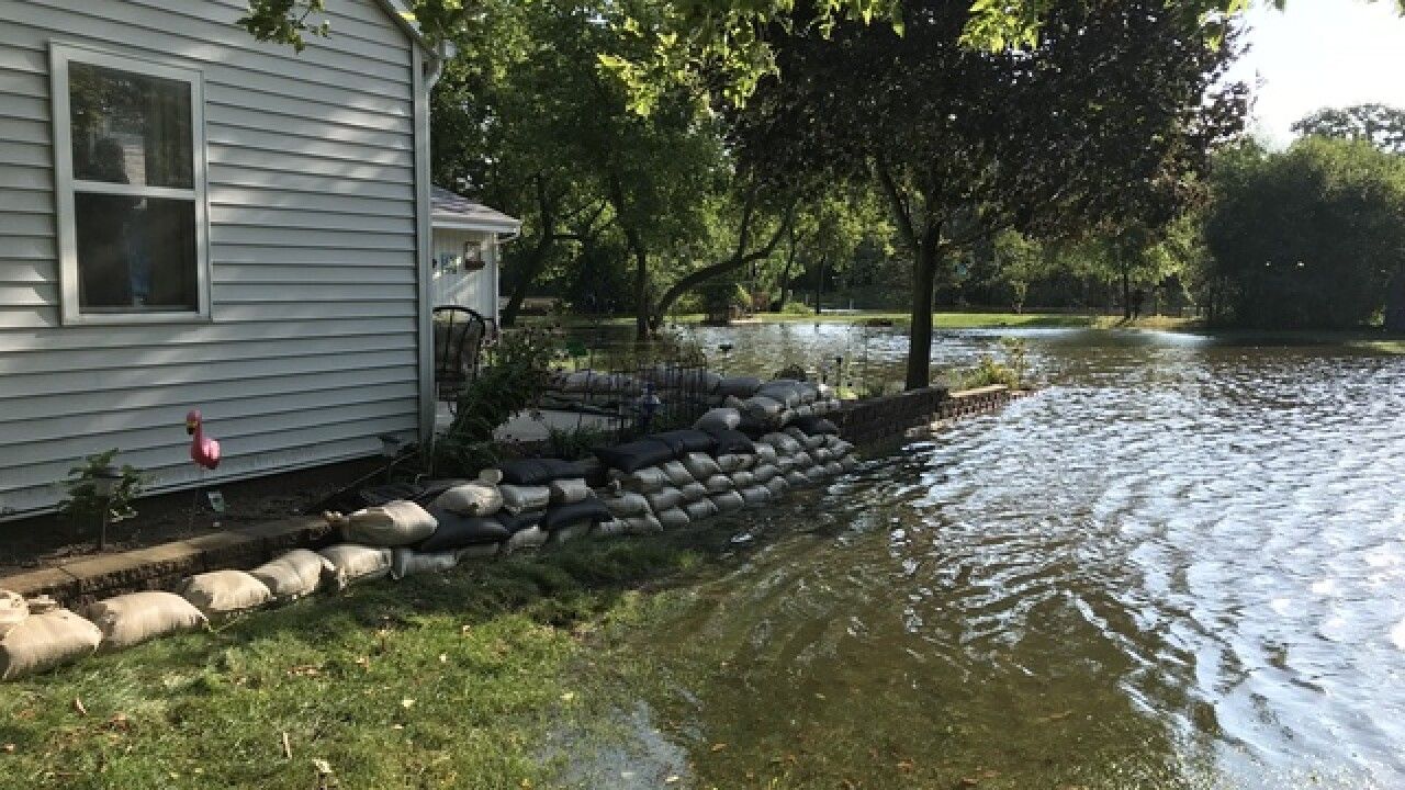 Saukville residents bracing for rising water