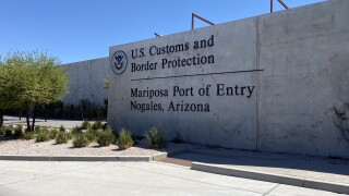 Mariposa Port of Entry in Nogales