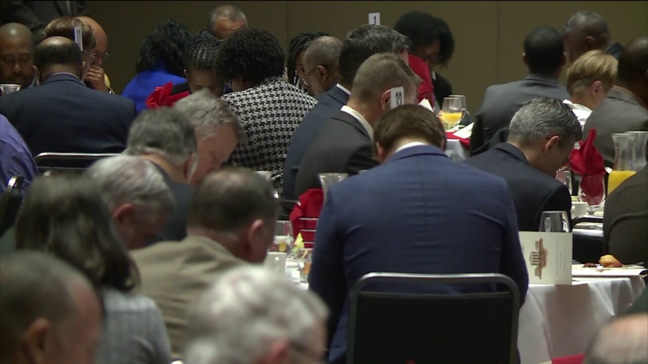 Lawmakers call for peace, civility at annual prayer breakfast: 'Treat each other as we would like to betreated'
