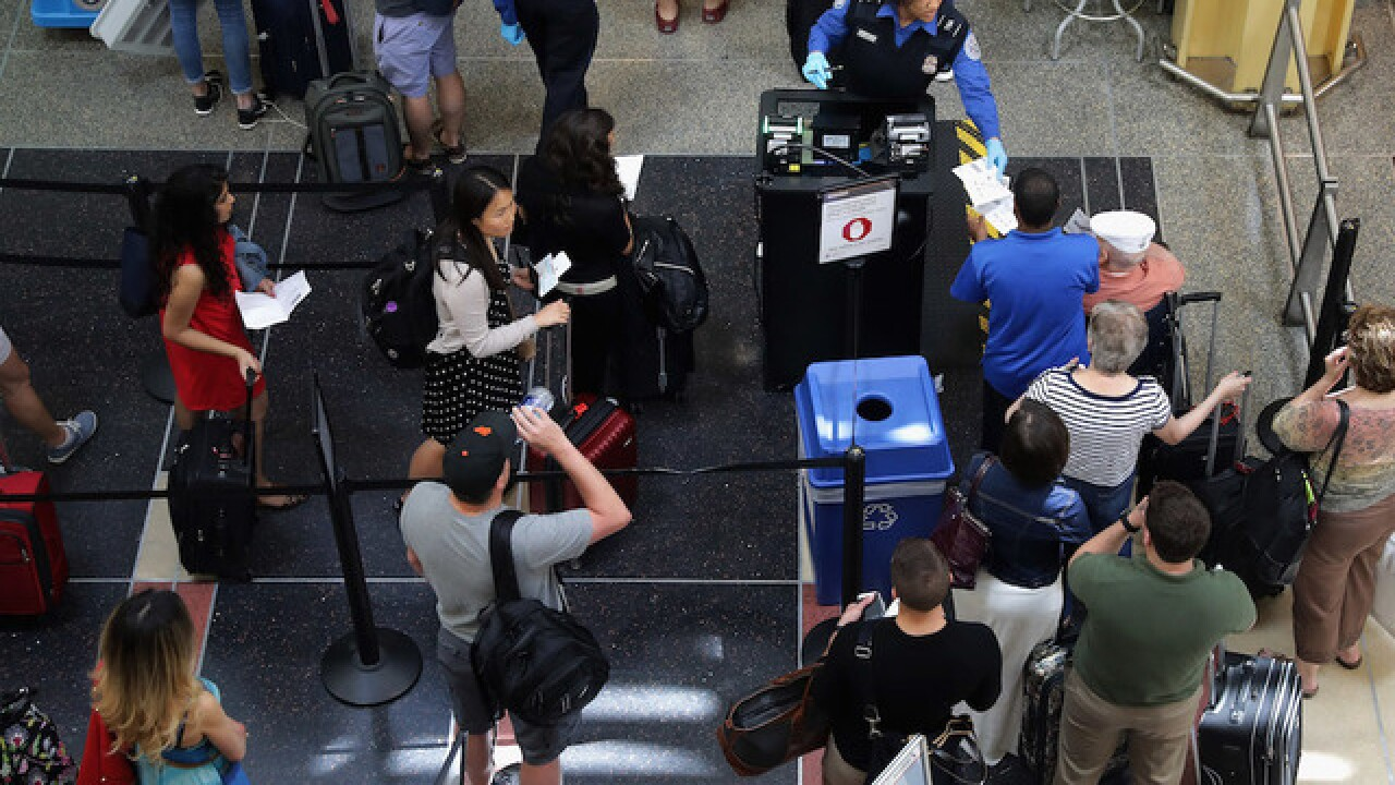 What's the worst day of the Memorial Day holiday weekend to travel by air?