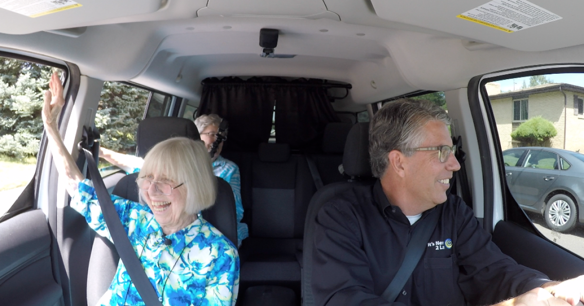 Teaching seniors about tech (and 'carpool karaoke')