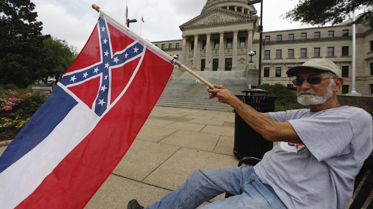 Mississippi lawmakers close to removing Confederate elements from state flag