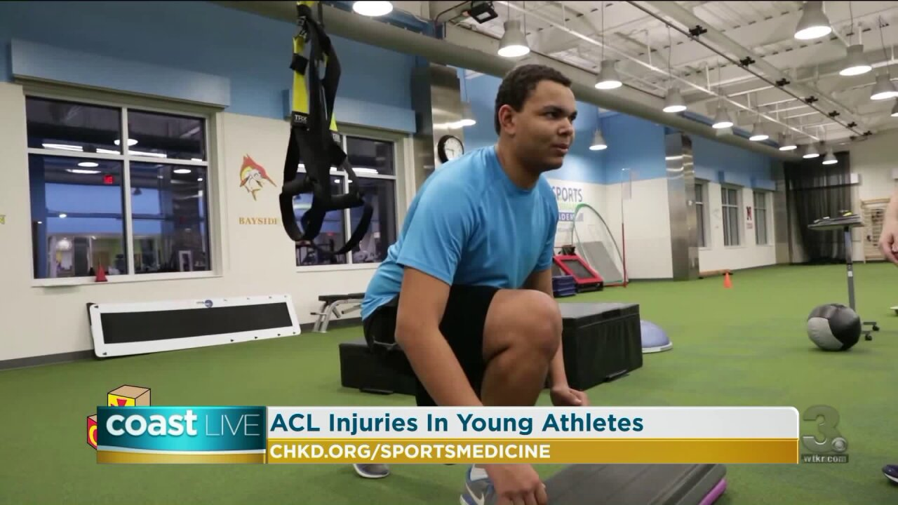 Helping student athletes overcome ACL injuries on CoastLive
