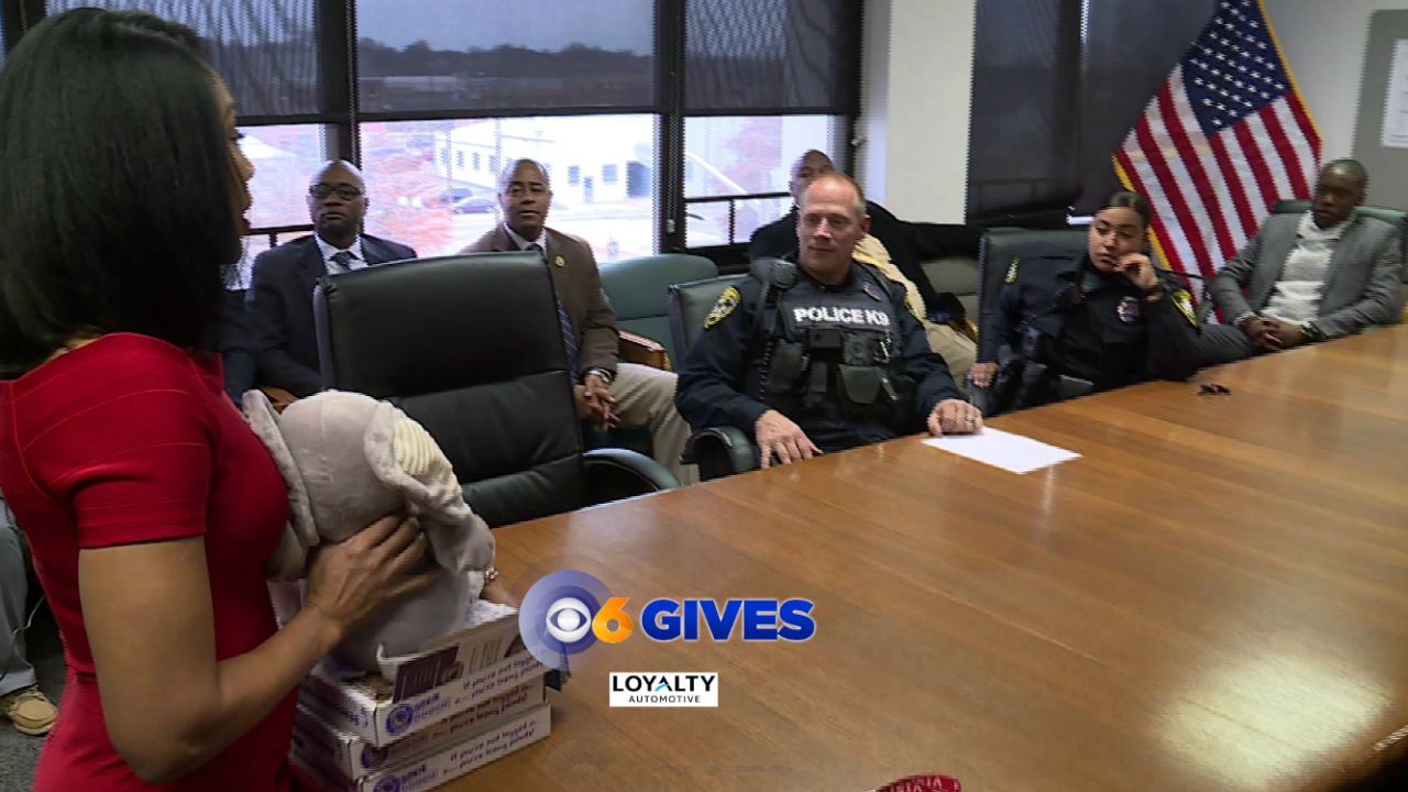 Candace surprises Petersburg officers who worked heartbreaking child abuse case