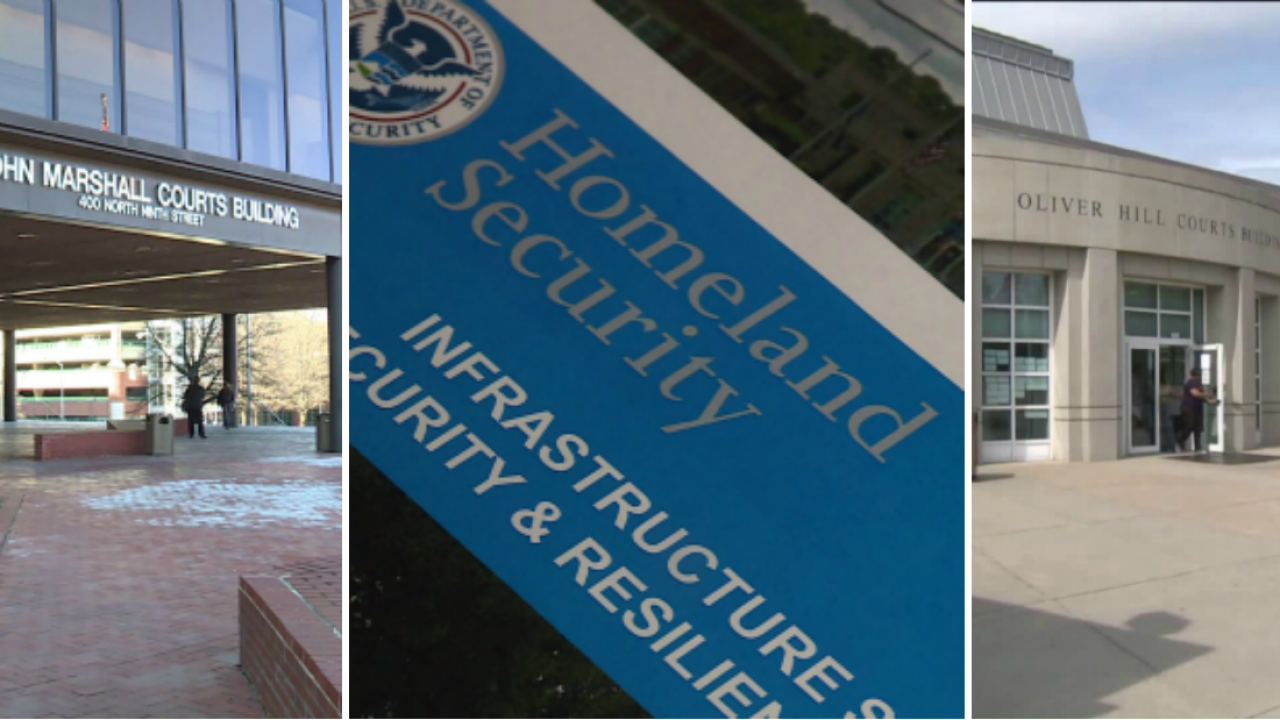 All Richmond courts fail Homeland Security review: 'Enter at your own risk!'