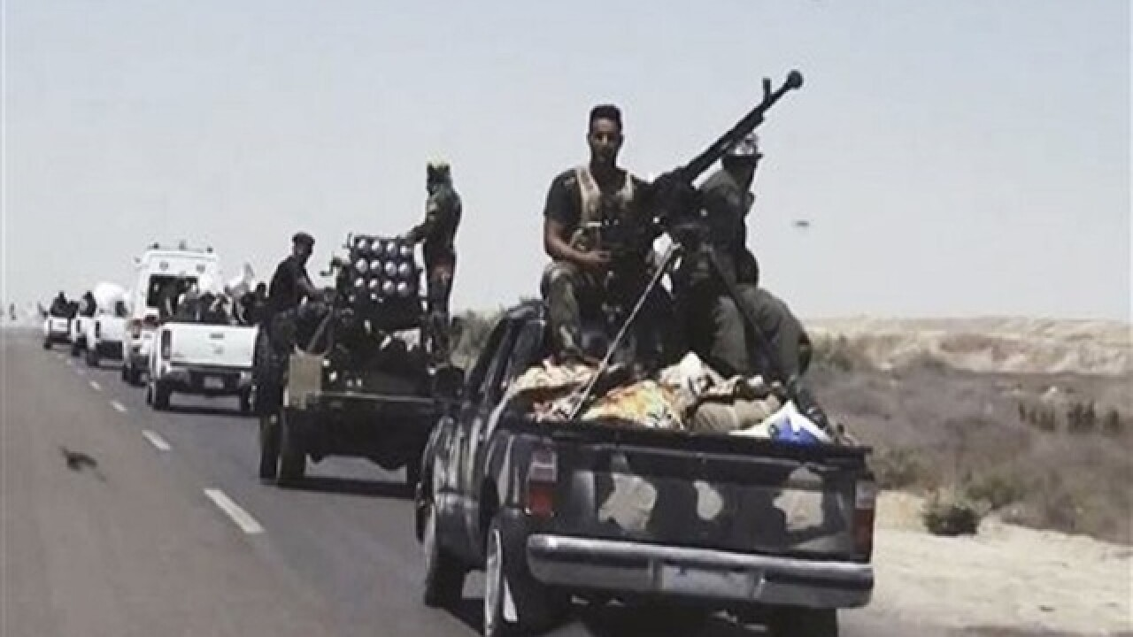 Iraqi forces push deeper into IS-held Fallujah