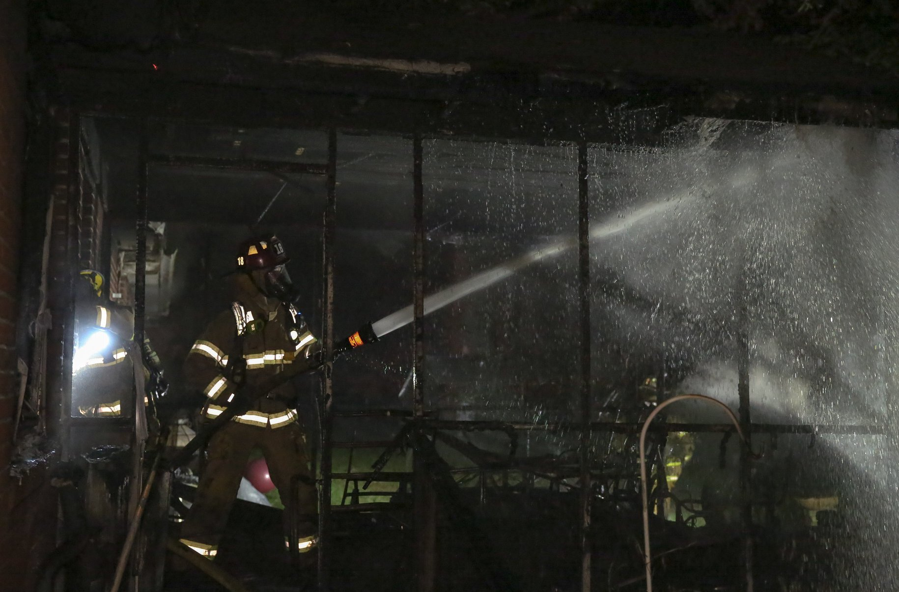 Photos: 3 people displaced after Virginia Beach housefire