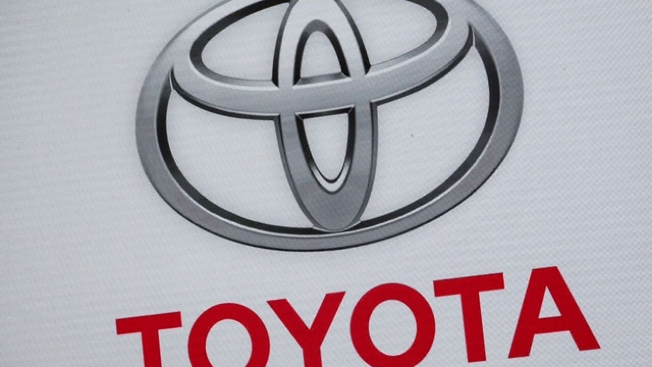 Toyota recall due to air bag problem