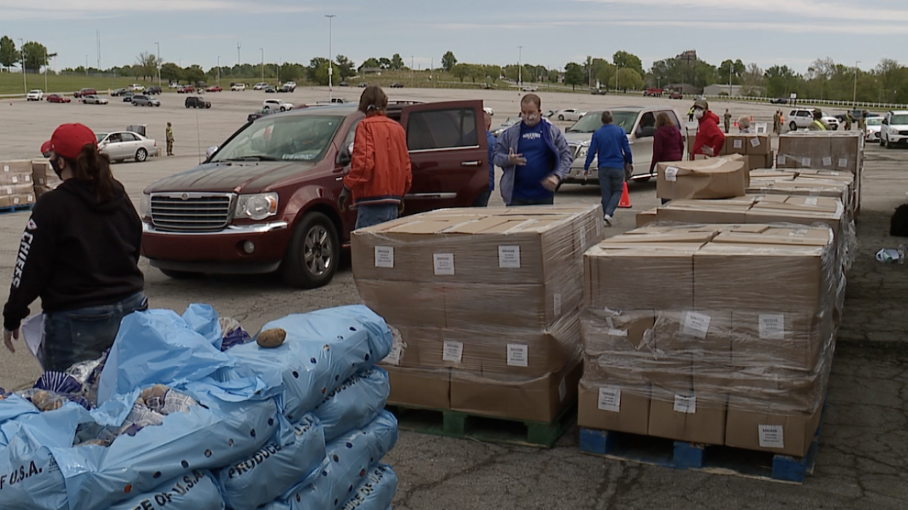Harvesters Donations