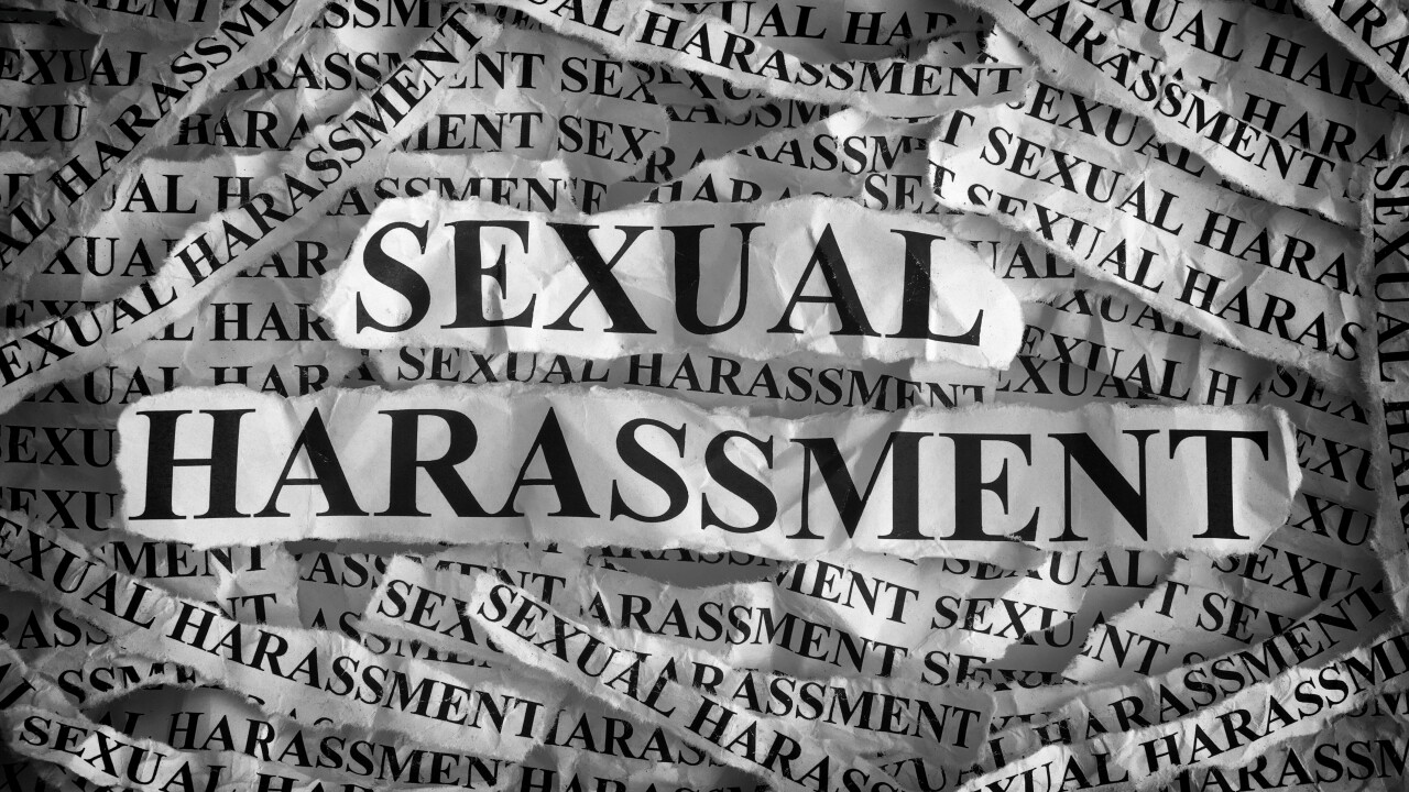 Local resources for victims of sexualharassment
