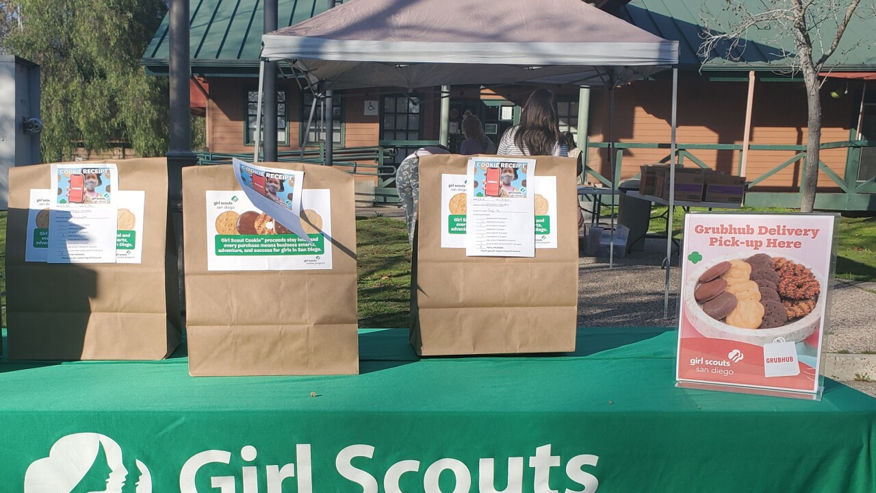 Girl Scouts Cookie Season