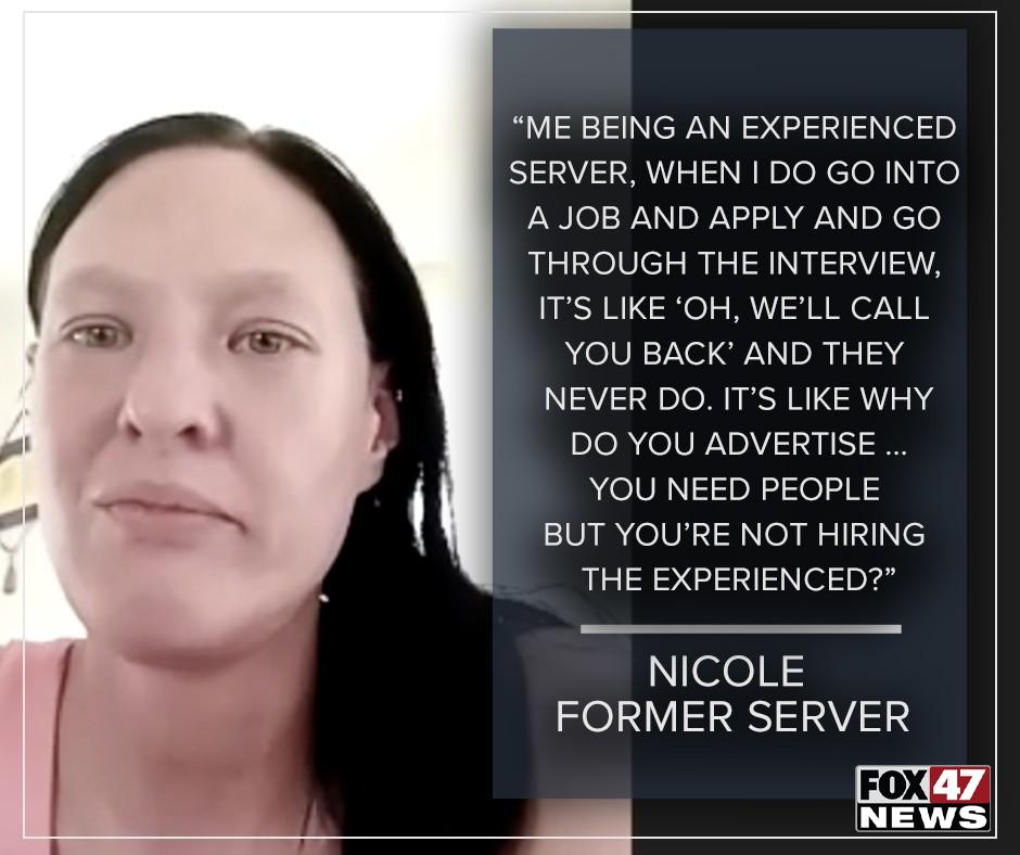 Nicole, A Former Server