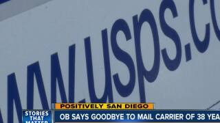 Ocean Beach thanks USPS mail carrier of 38 years
