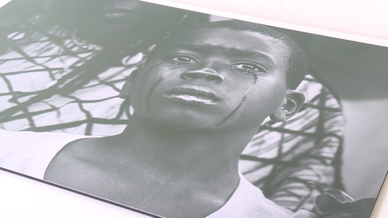 'I AM HERE' art exhibit tells stories, captures pain of those affected by gunviolence