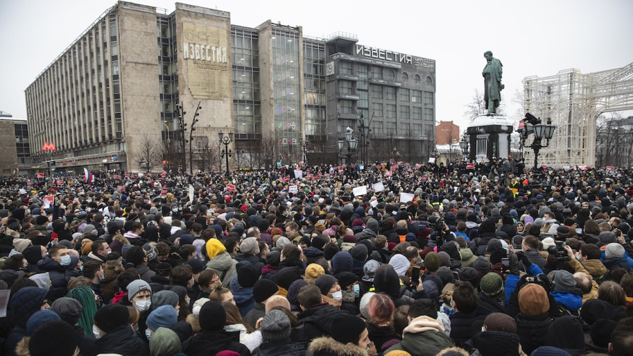Russia protests