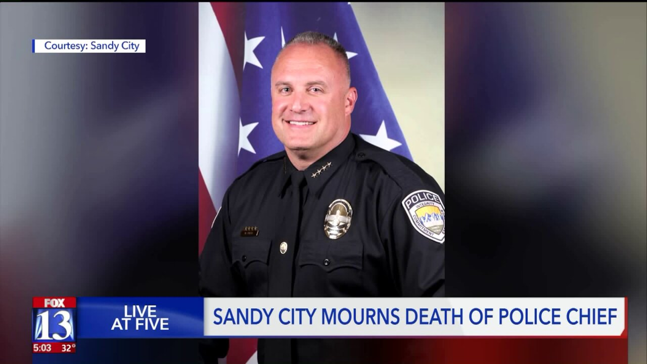 Sandy City mourns unexpected loss of police chief