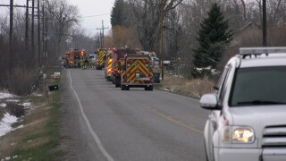 Belgrade home damaged, family escapes after fire starts on wood stove flue