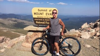 Christopher Jacobs on Mt. Evans