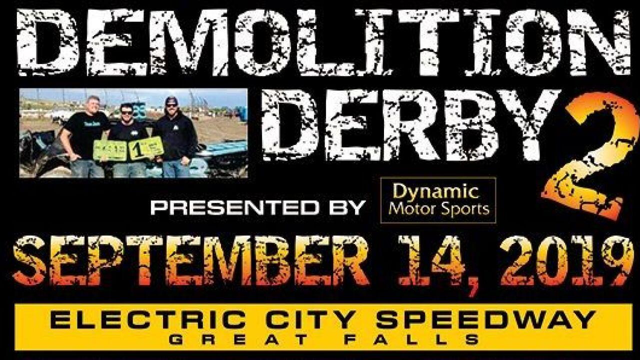 Demolition Derby in Great Falls on Saturday