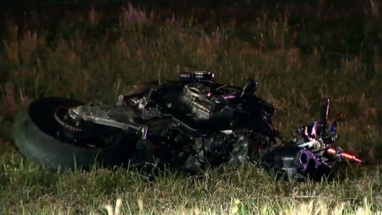 Motorcyclist Killed After Rear-Ending Car