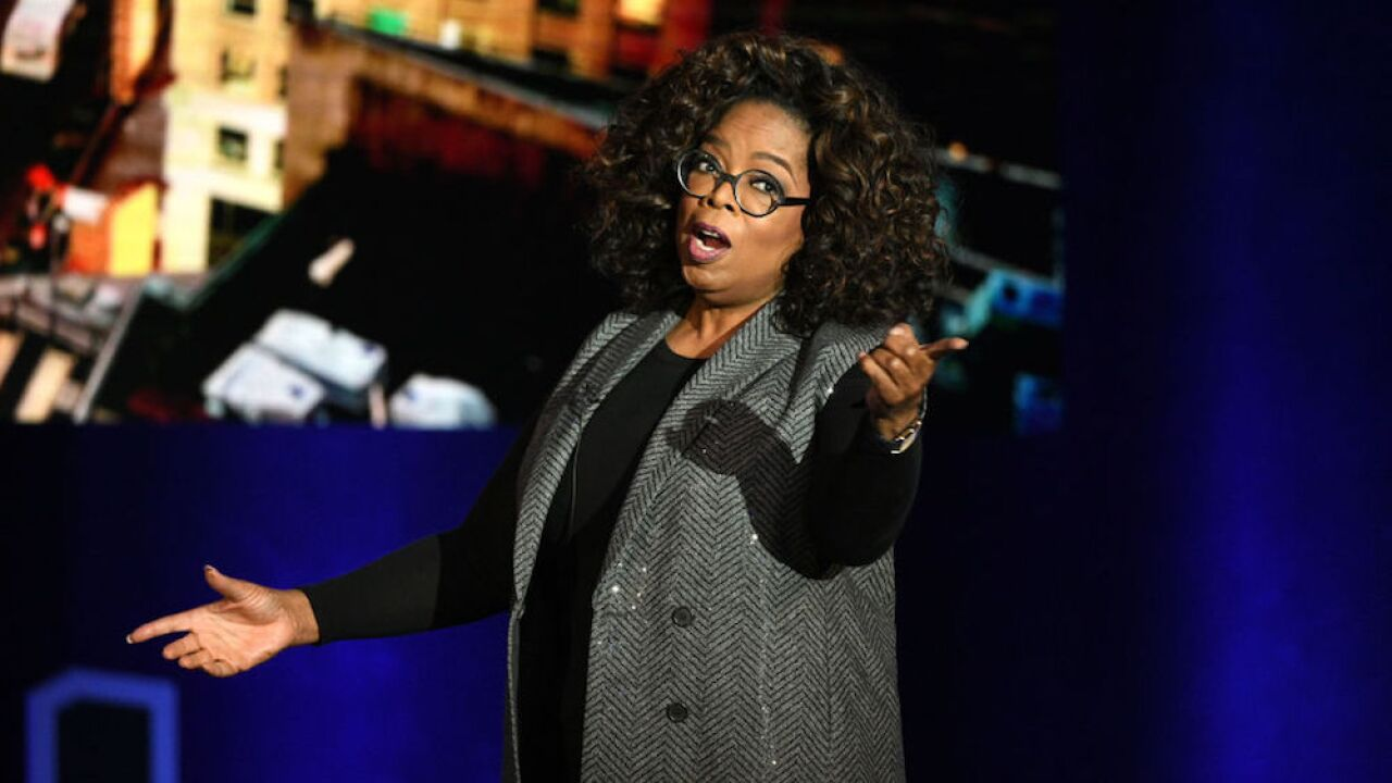 Oprah announces doc series, new book club at Apple event