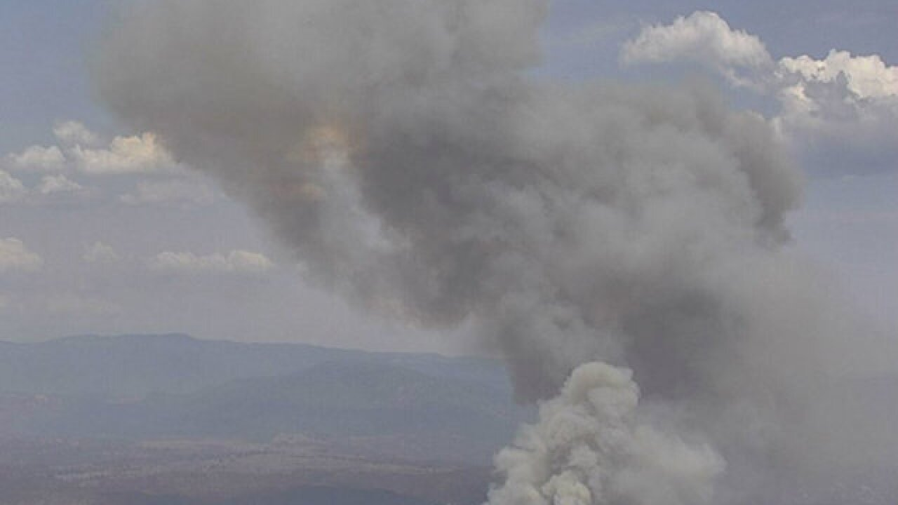 Crews responding to Ramona brush fire