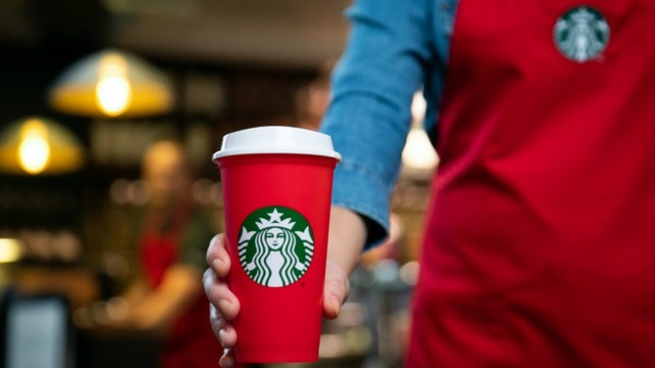 Starbucks 2018 holiday drinks: You can get a free, reusable red cup today