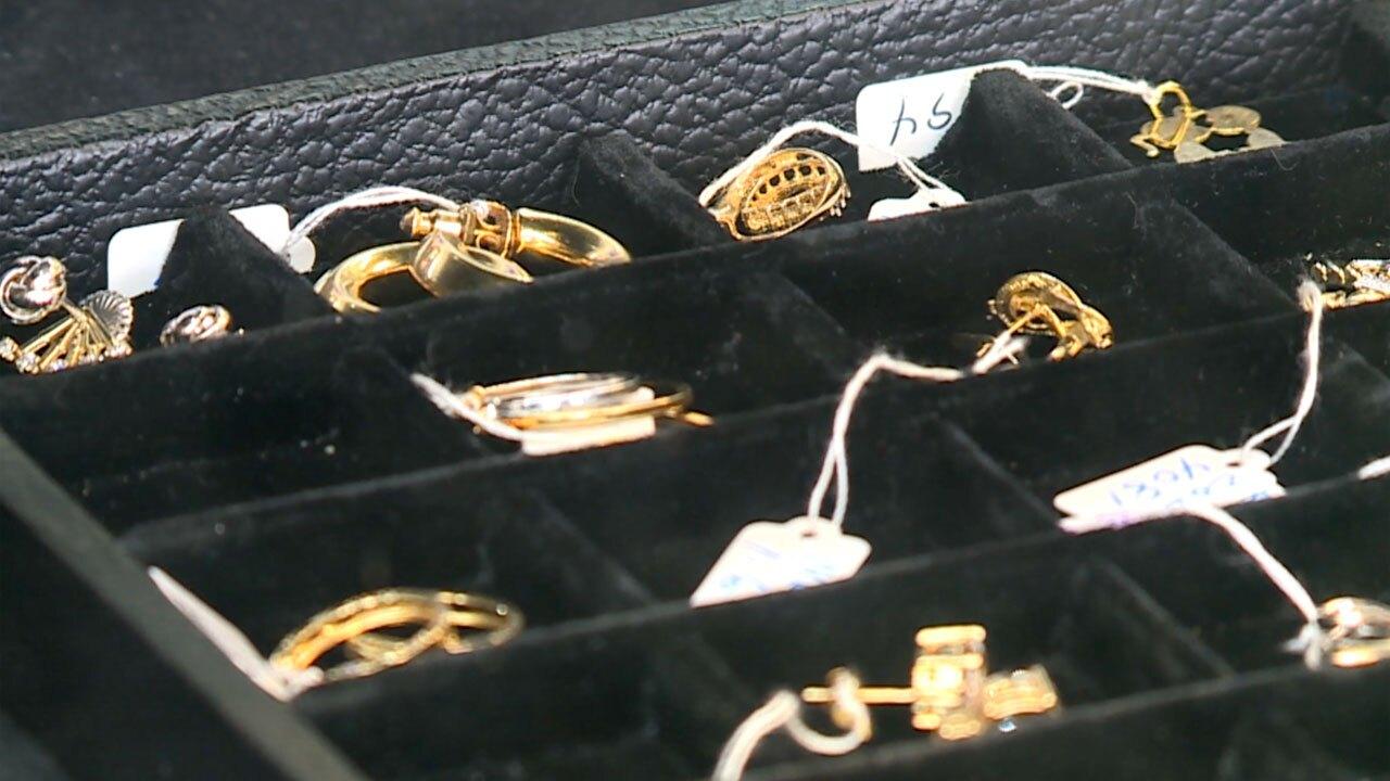 Pawnshop jewelry