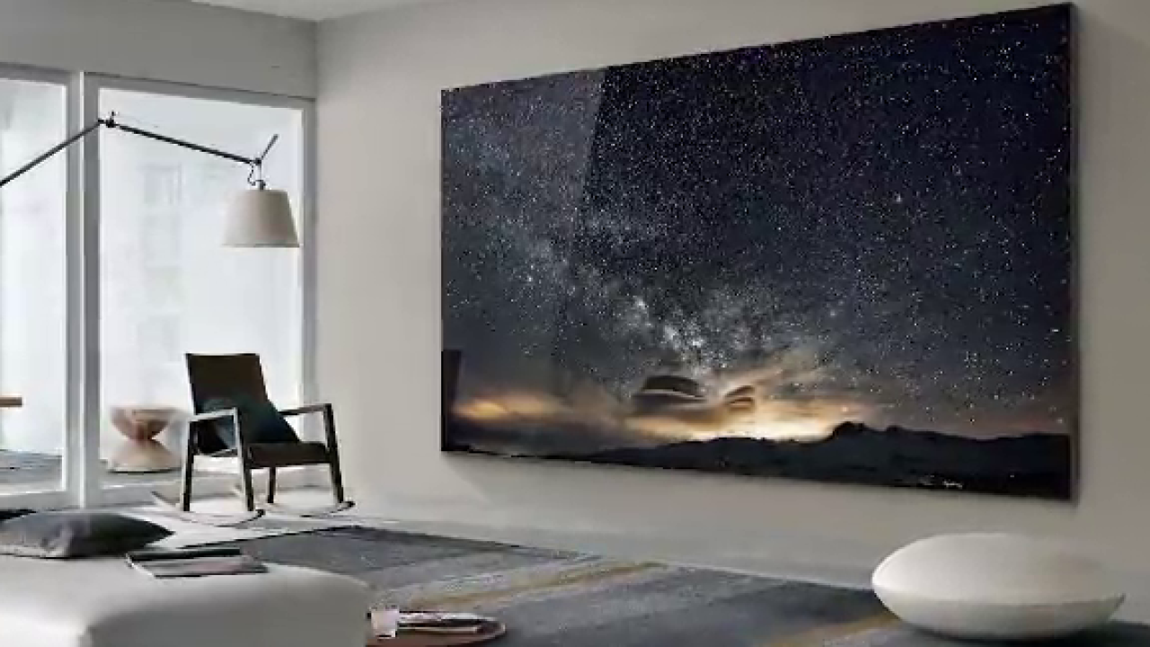 Samsung's 'The Wall,' a 219-inch TV