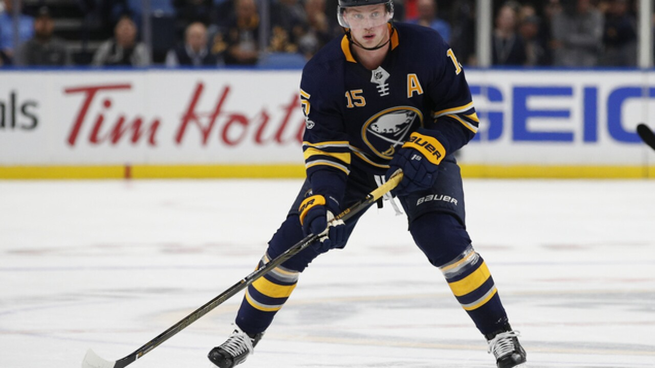 New season, old number: Sabres Jack Eichel to wear No. 9 during 2018-2019 season