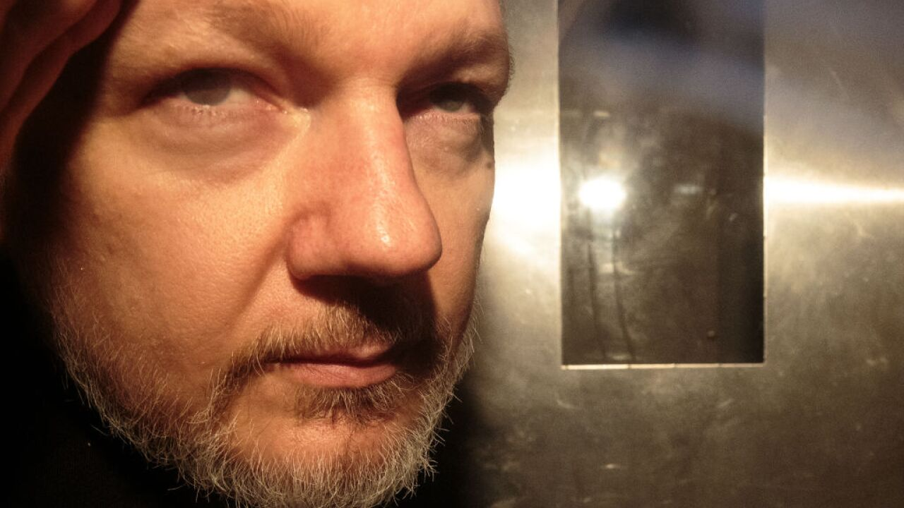UK signs Julian Assange's US extradition papers