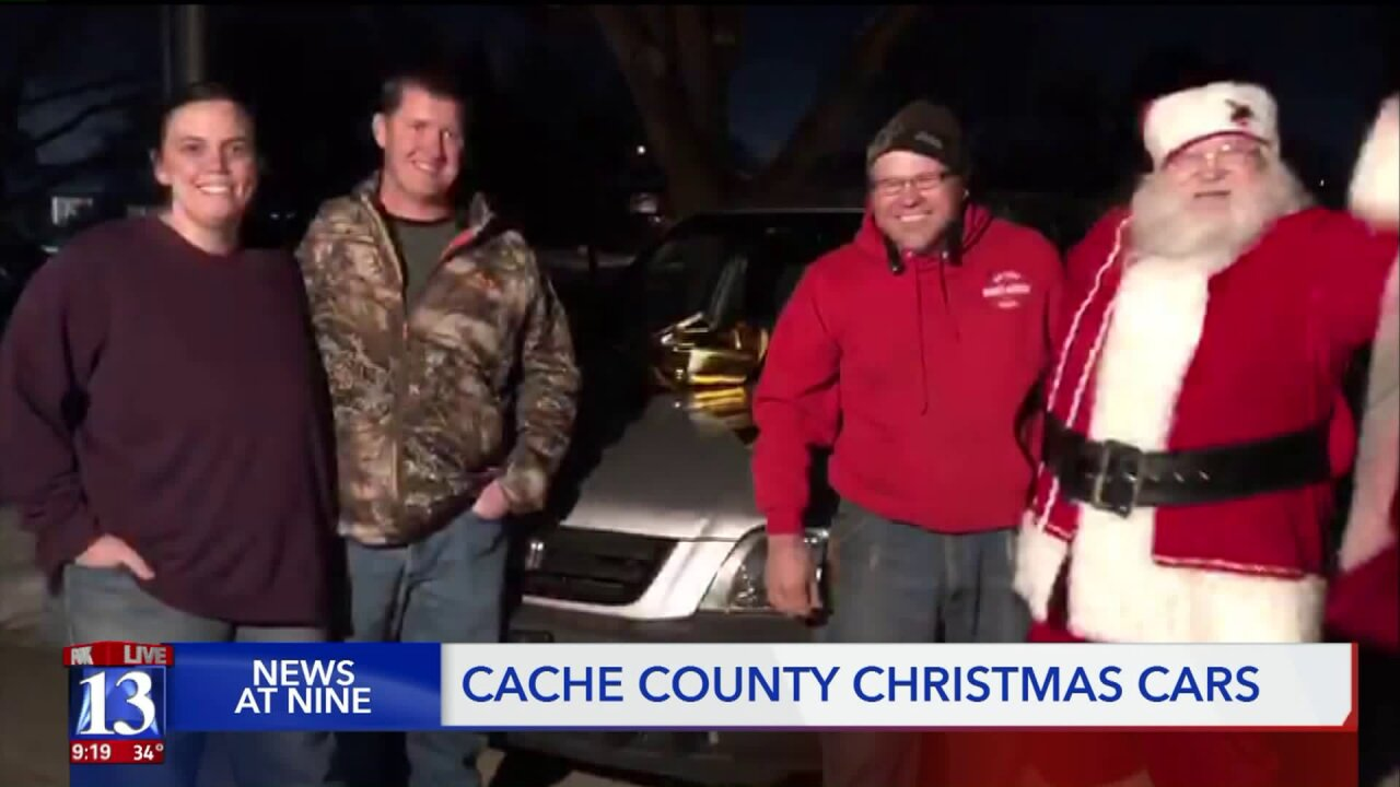 Victim in semitrailer crash keeps Christmas tradition of giving car to family inneed