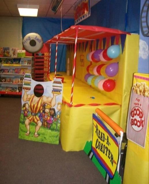 Librarian Book Fair Pic