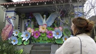 Virus Outbreak Paradeless Mardi Gras